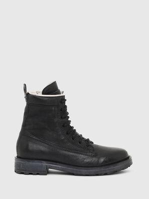 D-THROUPER DBB ZC W, Black - Ankle Boots