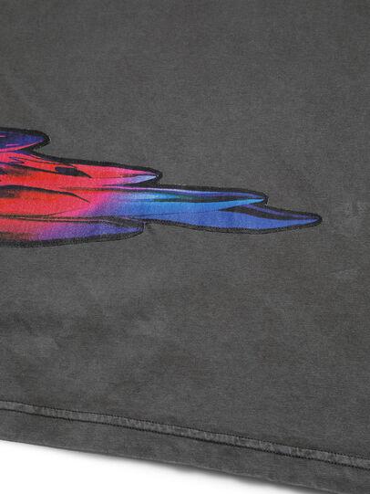 Diesel - D-5055-G, Black - T-Shirts - Image 5