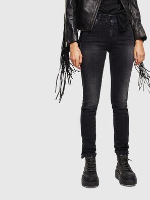 Sandy 0096P, Black/Dark grey - Jeans
