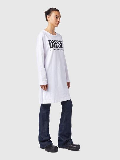 Diesel - D-WALKY-ECOLOGO, White - Dresses - Image 4