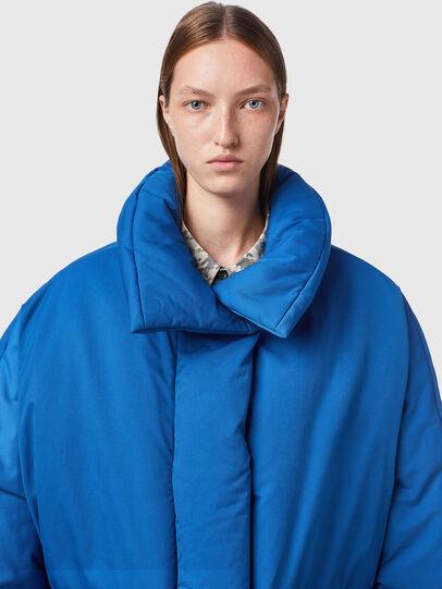 Diesel - W-THEA, Blue - Winter Jackets - Image 3