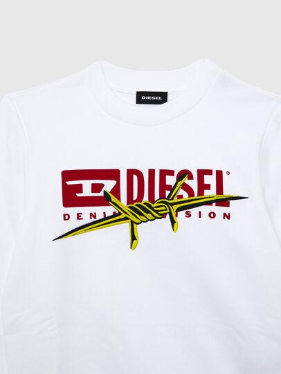 Diesel - SBAYBX5, White - Sweaters - Image 3