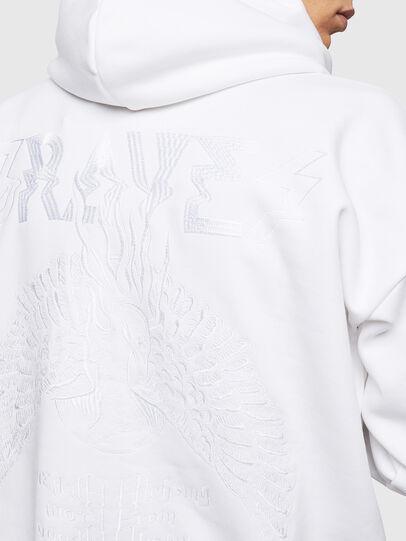 Diesel - S-ALBY-B5, White - Sweaters - Image 5