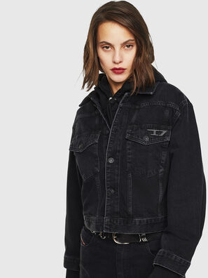 DE-CATY, Black/Dark grey - Denim Jackets
