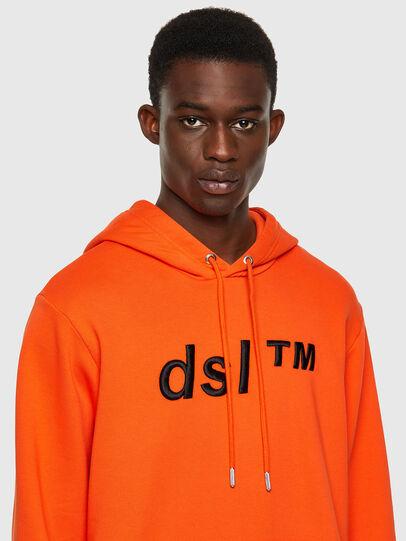 Diesel - S-GIRK-HOOD-B4, Orange - Sweaters - Image 3