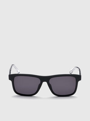 DL0279, Black/White - Sunglasses