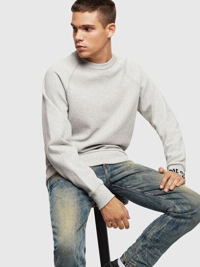 Diesel - S-KOBLER, Grey - Sweaters - Image 4