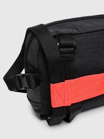 Diesel - ROEDER, Black/Green - Crossbody Bags - Image 7