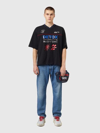 Diesel - LOKI PAT, Blue - Crossbody Bags - Image 6