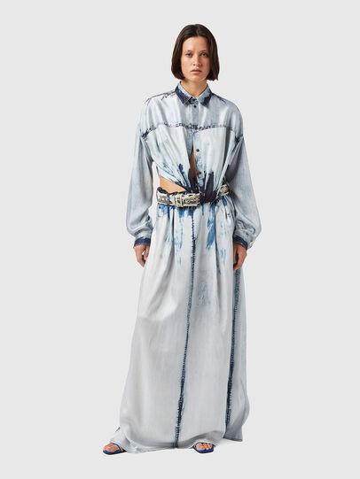 Diesel - D-SUKI, Light Blue - Dresses - Image 7