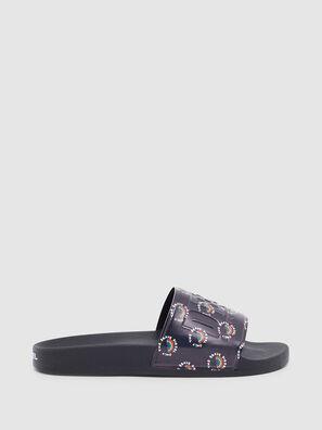 SA-VALLA, Black - Slippers