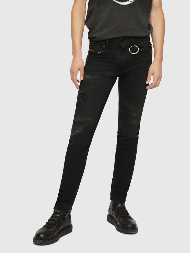 Thommer 0090N, Black/Dark grey - Jeans