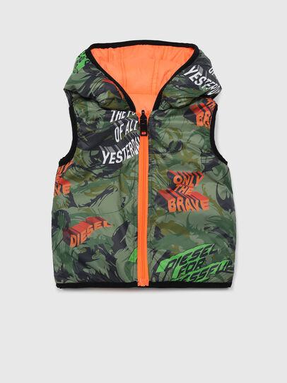 Diesel - JABBYB, Green/Orange - Jackets - Image 1