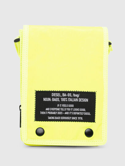 Diesel - ANKO, Yellow Fluo - Crossbody Bags - Image 1