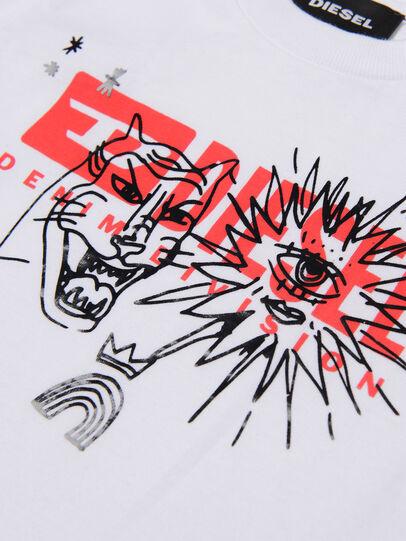 Diesel - TUDARIB, White - T-shirts and Tops - Image 3