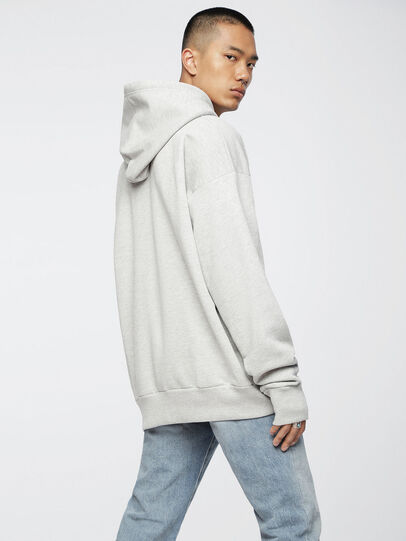 Diesel - S-ALBY, Light Grey - Sweaters - Image 2