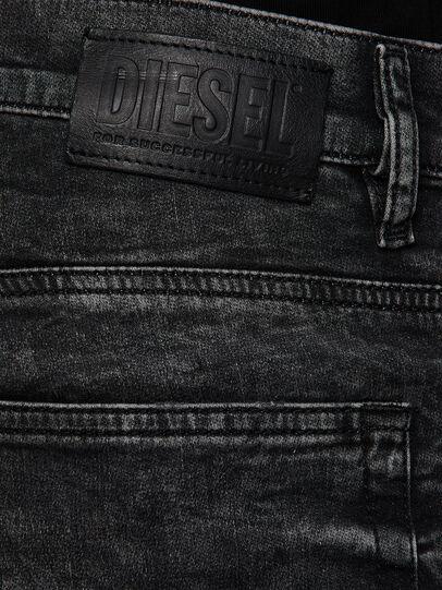 Diesel - D-REEFT JoggJeans® 009FZ, Black/Dark grey - Jeans - Image 4