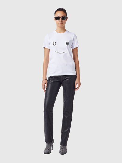Diesel - T-SILY-B4, White - T-Shirts - Image 4