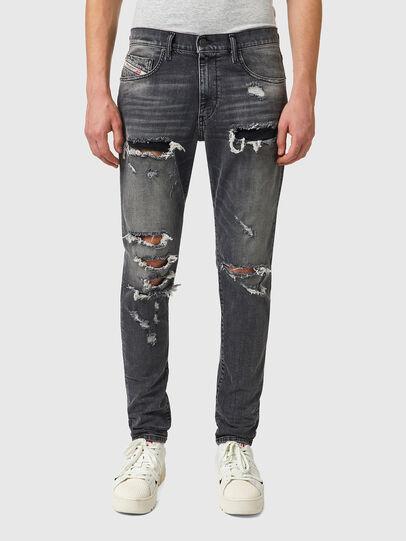 Diesel - D-Strukt 09B19, Black/Dark grey - Jeans - Image 1