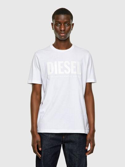 Diesel - T-JUST-INLOGO, White - T-Shirts - Image 1