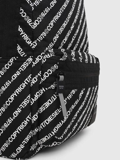 Diesel - MIRANO, Black/White - Backpacks - Image 4