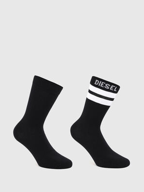 SKM-RAY-TWOPACK, Black/White - Socks
