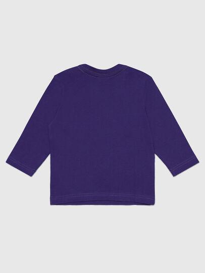 Diesel - TJUSTLOGOB-FL ML, Violet - T-shirts and Tops - Image 2