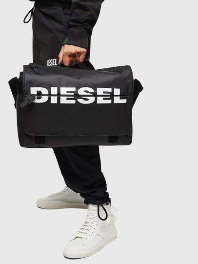 Diesel - F-BOLD MESSENGER II, Black - Crossbody Bags - Image 6
