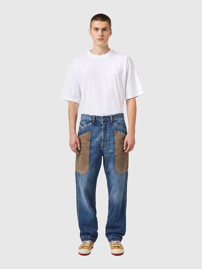 Diesel - D-Franky 0GCAY, Medium blue - Jeans - Image 6