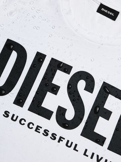 Diesel - T-SILY-WX, White - T-Shirts - Image 4
