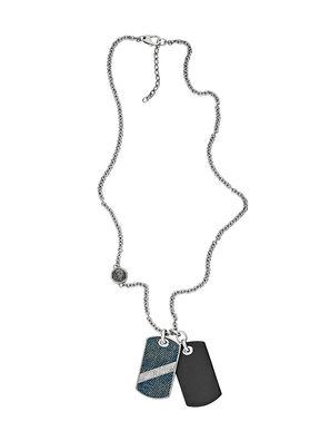 NECKLACE DX1031, Blue Jeans - Necklaces