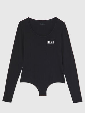 UFBY-BODYPOK-LS, Black - Bodysuits