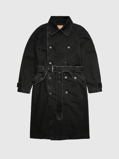 Diesel - D-DELIRIOUS, Black - Denim Jackets - Image 1