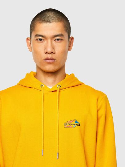 Diesel - S-GIRK-HOOD-K22, Yellow - Sweaters - Image 3