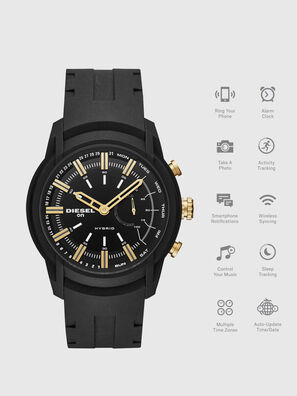 DT1014, Black - Smartwatches