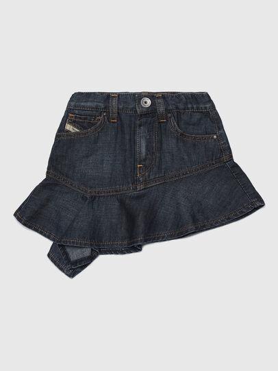 Diesel - GABBYB, Dark Blue - Skirts - Image 1