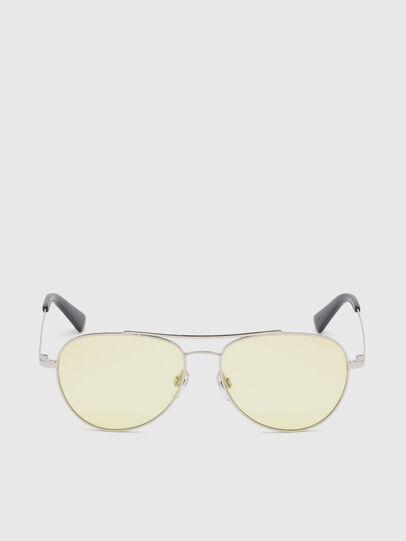 Diesel - DL0285, Pearl Grey - Sunglasses - Image 1