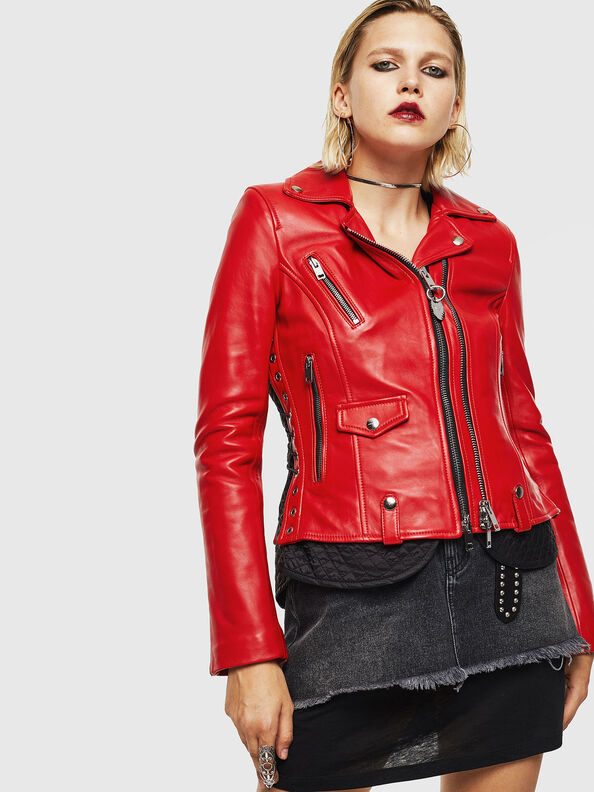 L-CARAMA,  - Leather jackets