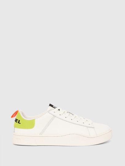 Diesel - S-CLEVER LOW LACE, White/Yellow - Sneakers - Image 1