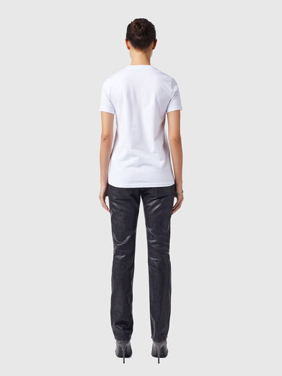 Diesel - T-SILY-B4, White - T-Shirts - Image 5