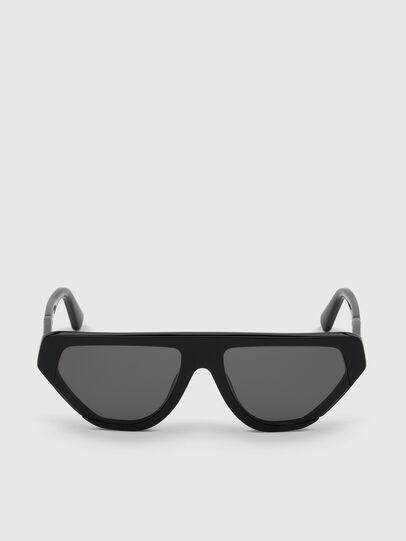 Diesel - DL0322, Black - Sunglasses - Image 1