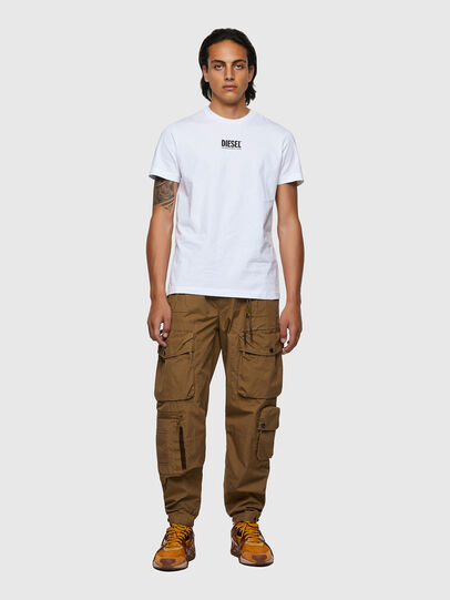 Diesel - T-DIEGOS-ECOSMALLOGO, White - T-Shirts - Image 4