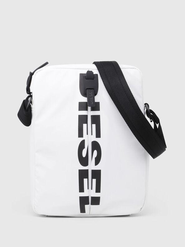 F-BOLD SMALL CROSS, White - Crossbody Bags