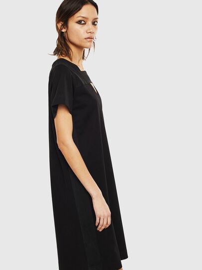 Diesel - D-STRIPE, Black - Dresses - Image 4