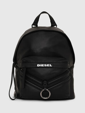 LE-ZIPPER BACKPACK, Black - Backpacks