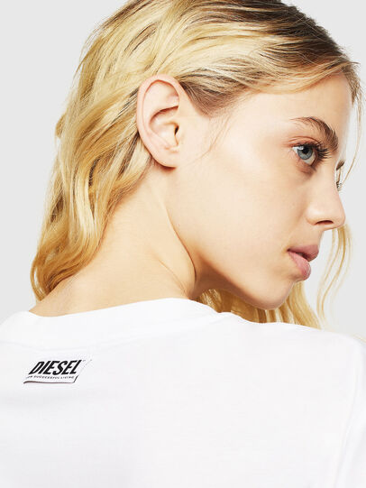 Diesel - T-DARIA-Y, White - T-Shirts - Image 5
