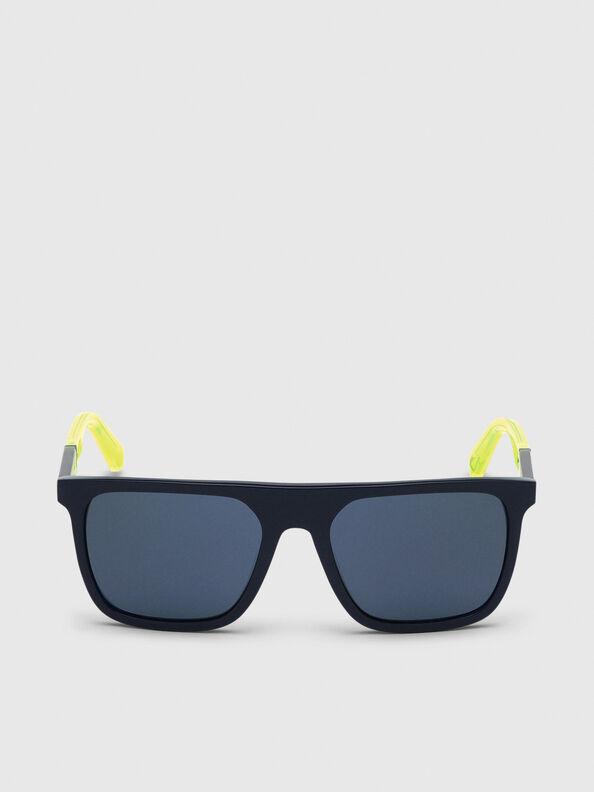 DL0299, Blue/Yellow - Sunglasses