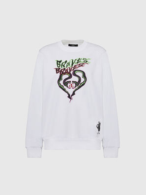 F-ANG-K10, White - Sweaters