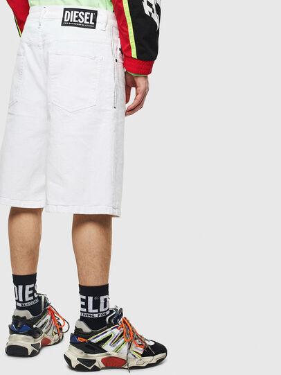 Diesel - D-BRON, White - Shorts - Image 2