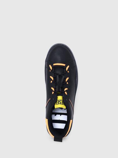 Diesel - S-CLEVER SO C, Black/Yellow - Sneakers - Image 6